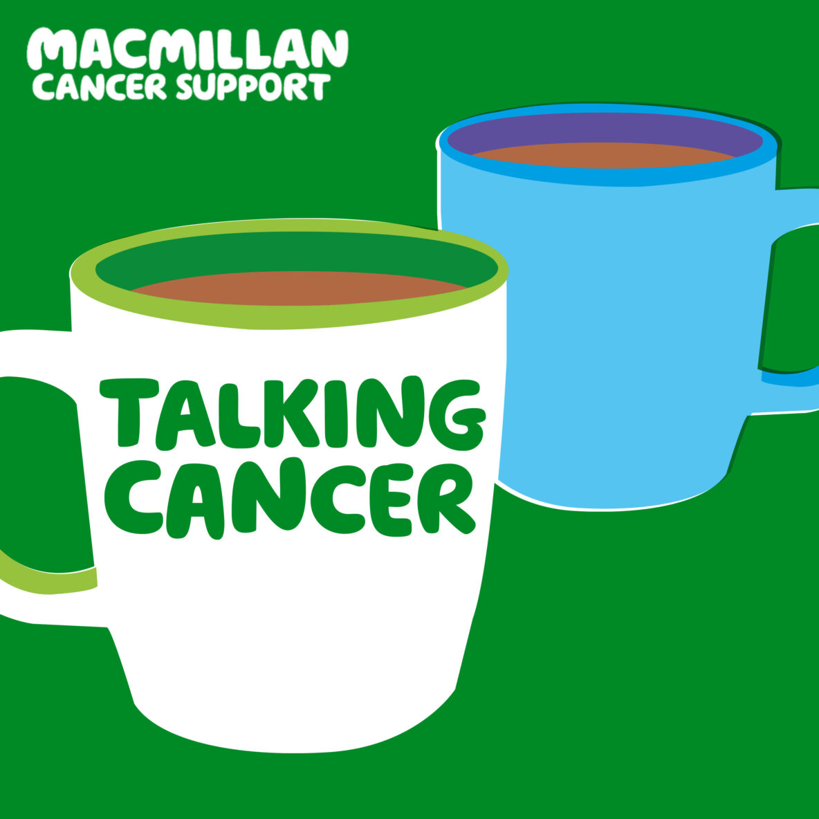 Macmillan Talking Cancer Cover Art