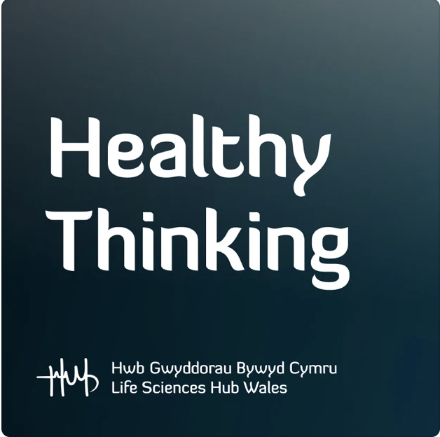 Healthy Thinking Cover Art Life Sciences Hub Wales