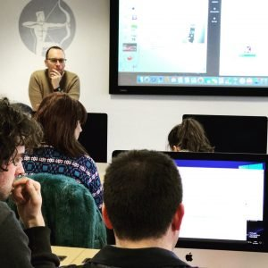Guest Lecturing - Cardiff Met - Steve